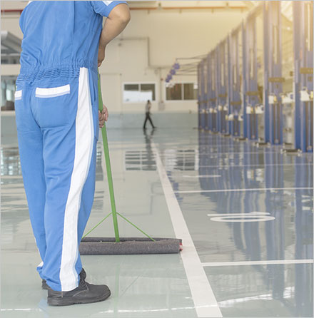 Warehouse & Industrial Cleaning